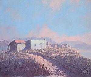 """Jack van Ryder, Arizona, Oil on canvas, Circa 1930, 24"""" x 28"""""""