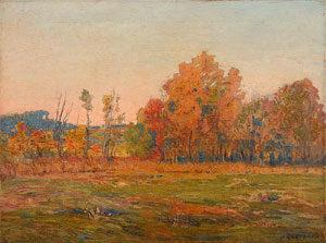 """Joseph Kleitsch, Oil on Canvas, 18"""" x 24"""""""