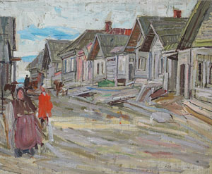 Leon Gaspard, Oil on Canvas